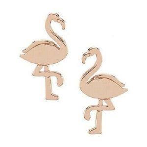 KATE SPADE By the Pool Flamingo Stud Earrings